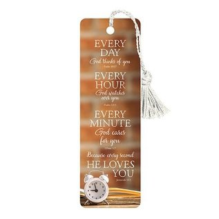 Bookmark-Every Day Every Hour, Tassel