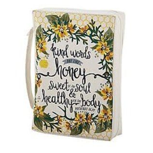 Bible Cover - Kind Words, Canvas Large