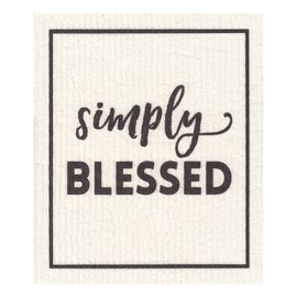 Dishcloth - Simply Blessed, Organic