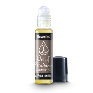 Anointing Oil - Unscented, Roll-on 1/3 oz