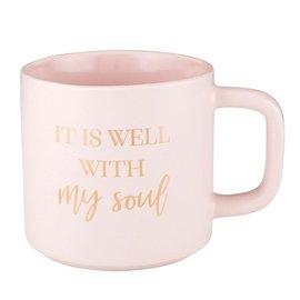 Mug - It is Well, Pink (14 oz)