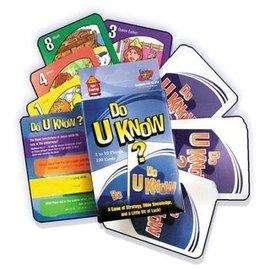 Card Game - Do U Know?