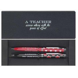 Pen Set - A Teacher Serves