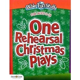 One Rehearsal Christmas Plays (Bible Fun Stuff)