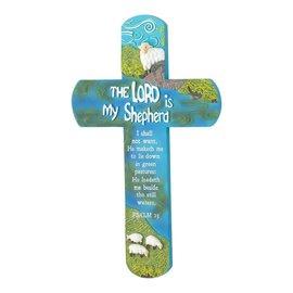 Wall Cross - The Lord is my Shepherd