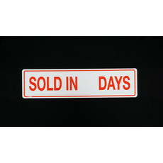 Sold in __ Days  6 x 24