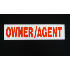 Owner/Agent 6 x 24