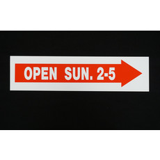 Open Sunday 2-5 >>>6 x 24