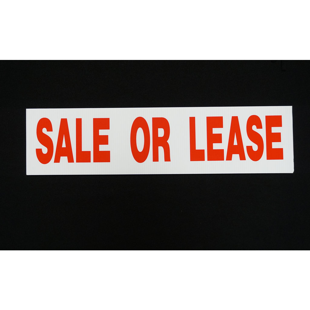 Sale or Lease 6 x 24