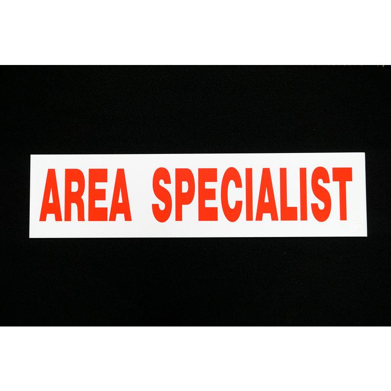 Area Specialist