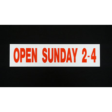 Open Sunday 2-4
