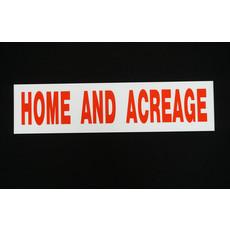 Home & Acreage 6 x 24