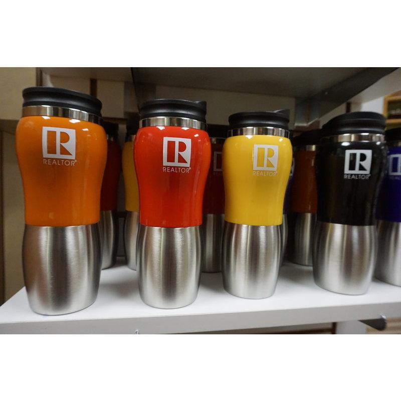 R/ Logo Travel Mug