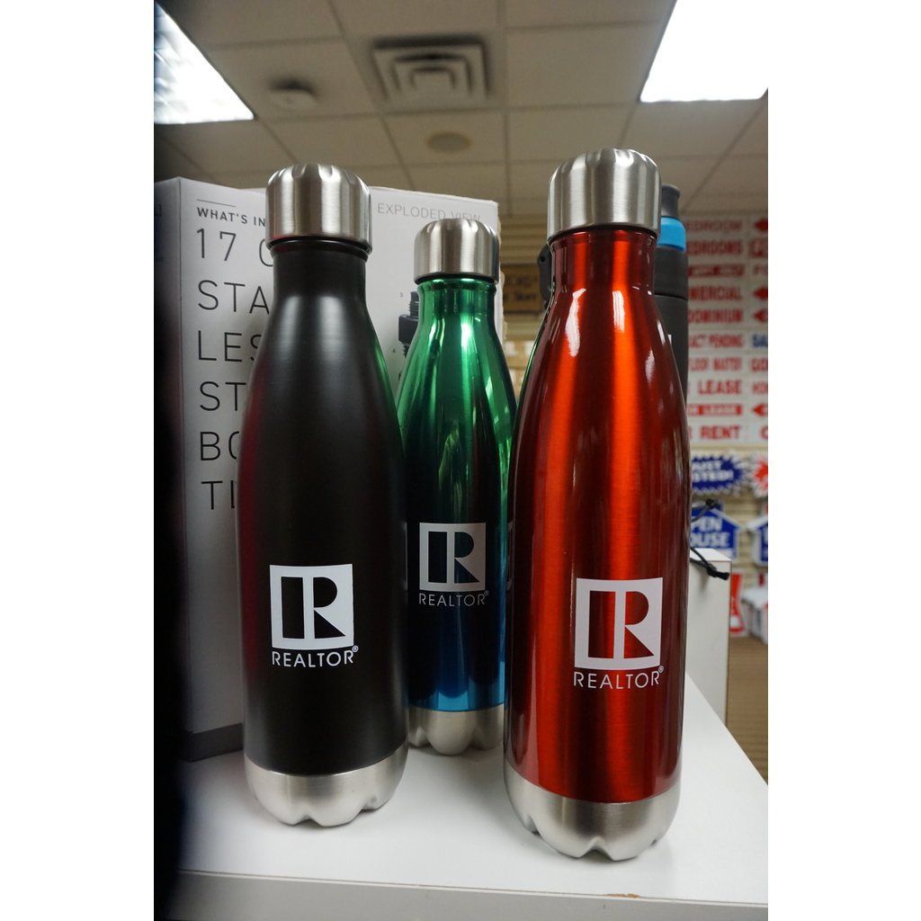 R/Logo Water Bottle Aluminum