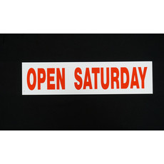 Open Saturday 6 x 24
