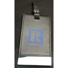 R LOGO BLACK  LUGGAGE TAG