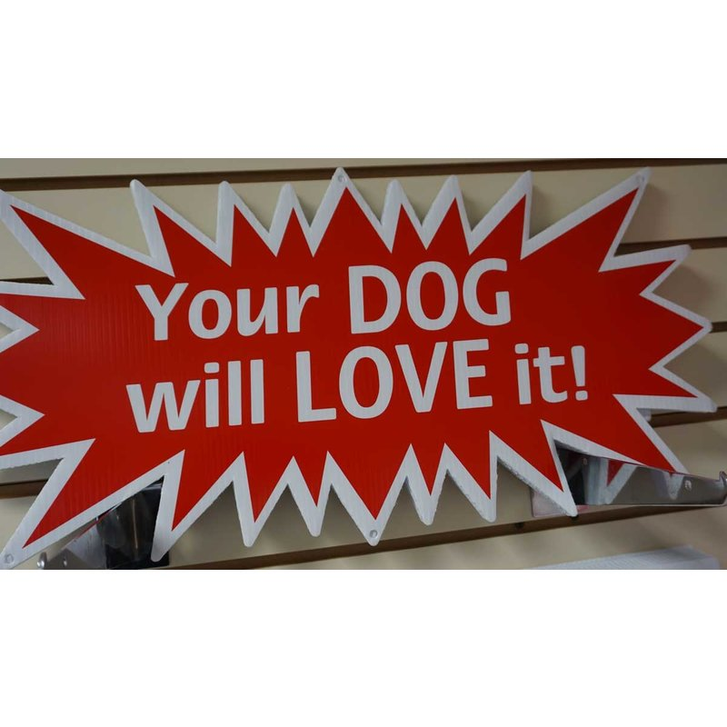 YOUR DOG WILL LOVE IT STAR