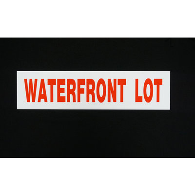 Waterfront/Waterview/Water Access 6 x 24
