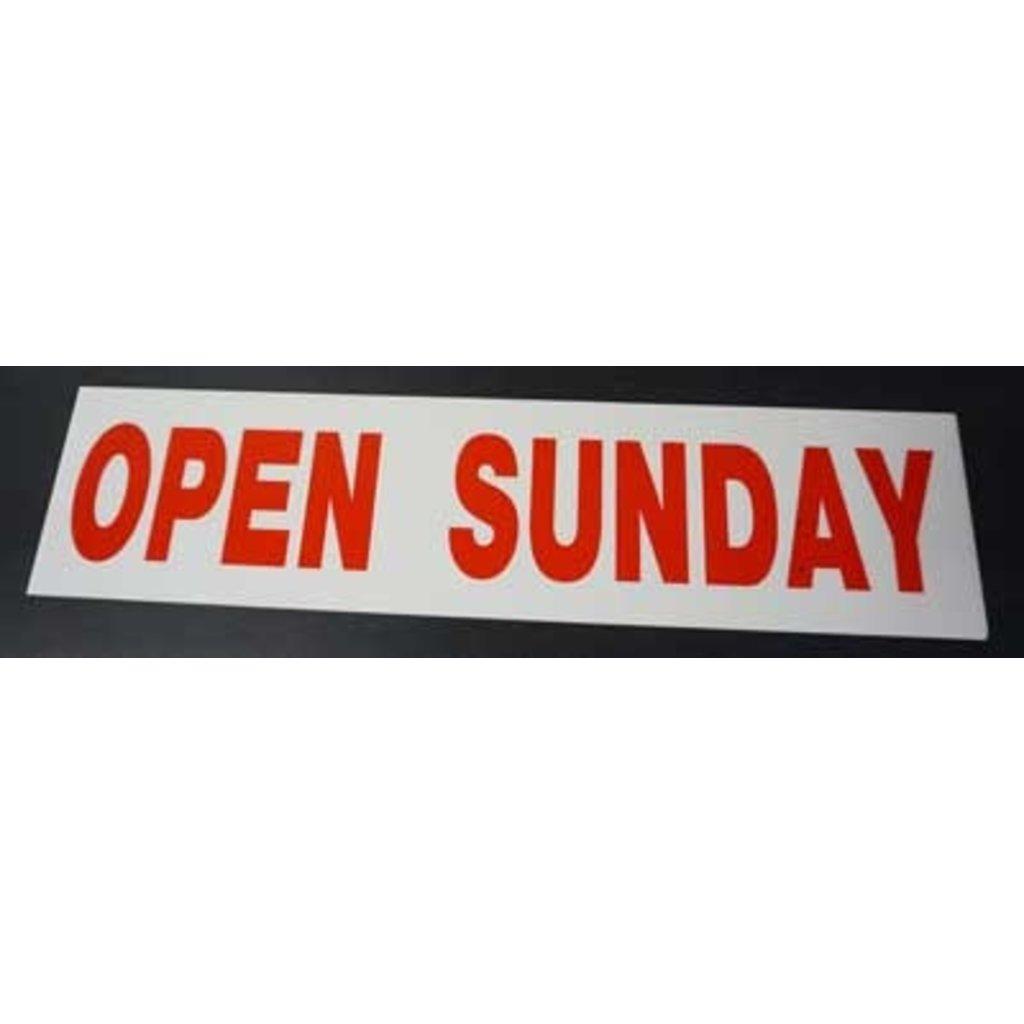 Open Sunday 2-5>>>6x24