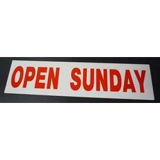 Open Sunday 6 x 24