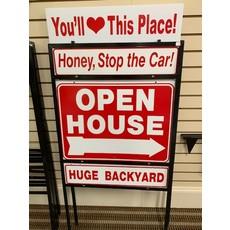 Sign Frame Steel 18x24