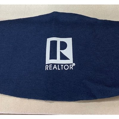 R Logo Blue Face Covering