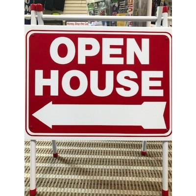 Open House Plastic A-Frame
