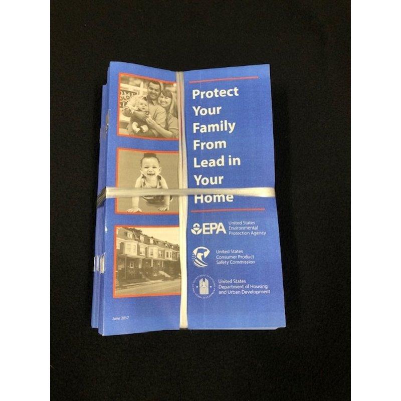 EPA Lead Brochure 50 Pack