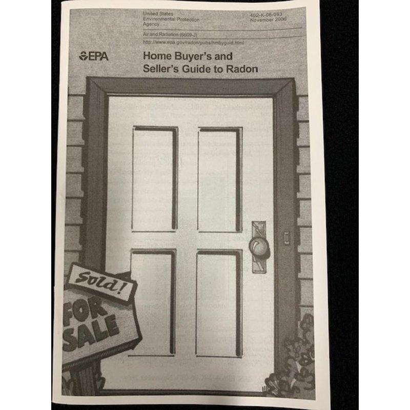 EPA Guide to Radon (Single copy)