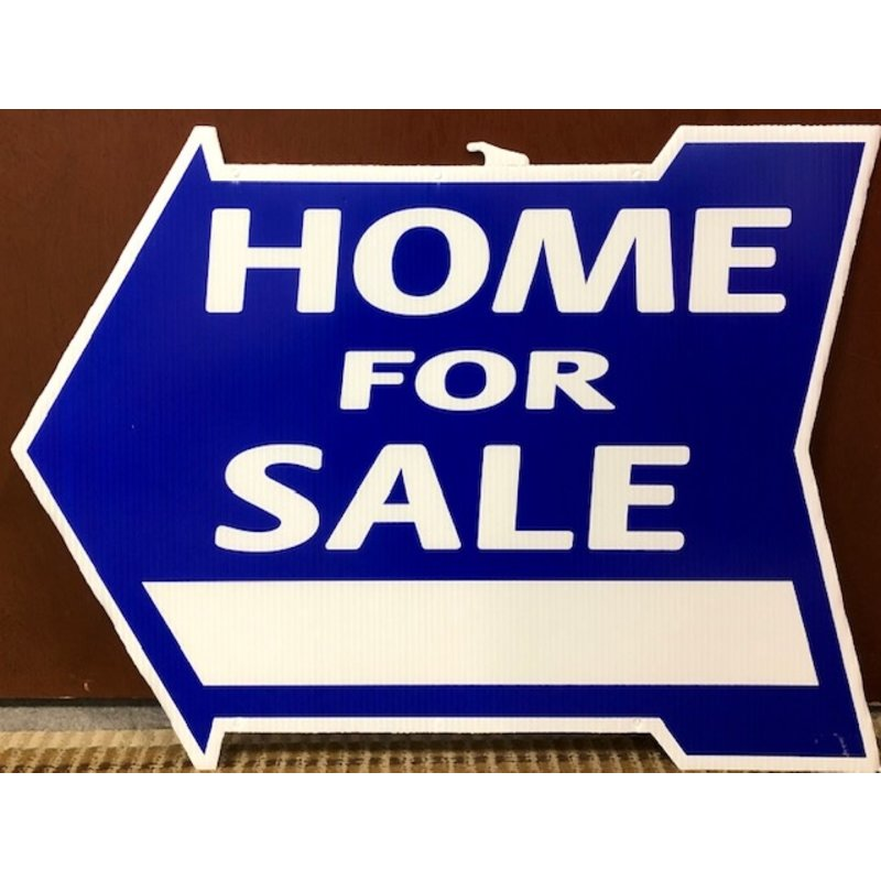 Home For Sale Di-Cut Arrow
