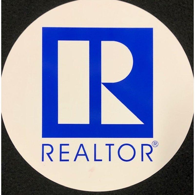 R/Logo Round Car Magnet