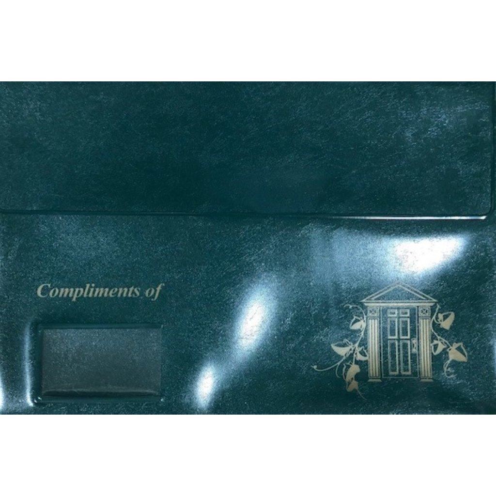 Closing Folder Leatherette