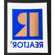 R/Logo Window Cling 2 X 2.5 in.