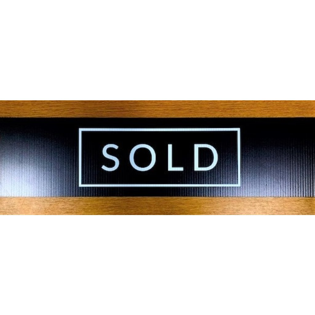 All Things Real Estate Sold Black Rider Minimal 6 x 24