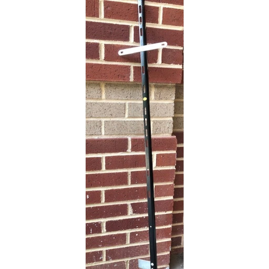 "Black 47"" Sign Stake with T"