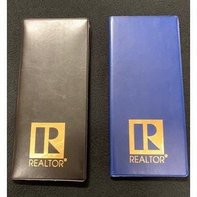 R Logo Business Card File Book