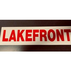 Lakefront/view 6 x 24