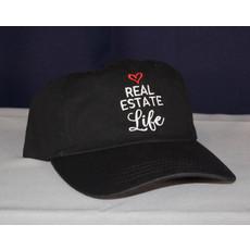 New Hat  REAL ESTATE LIFE Black