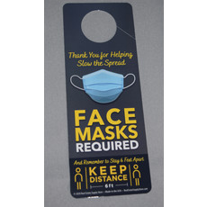Door Hanger FACE MASK