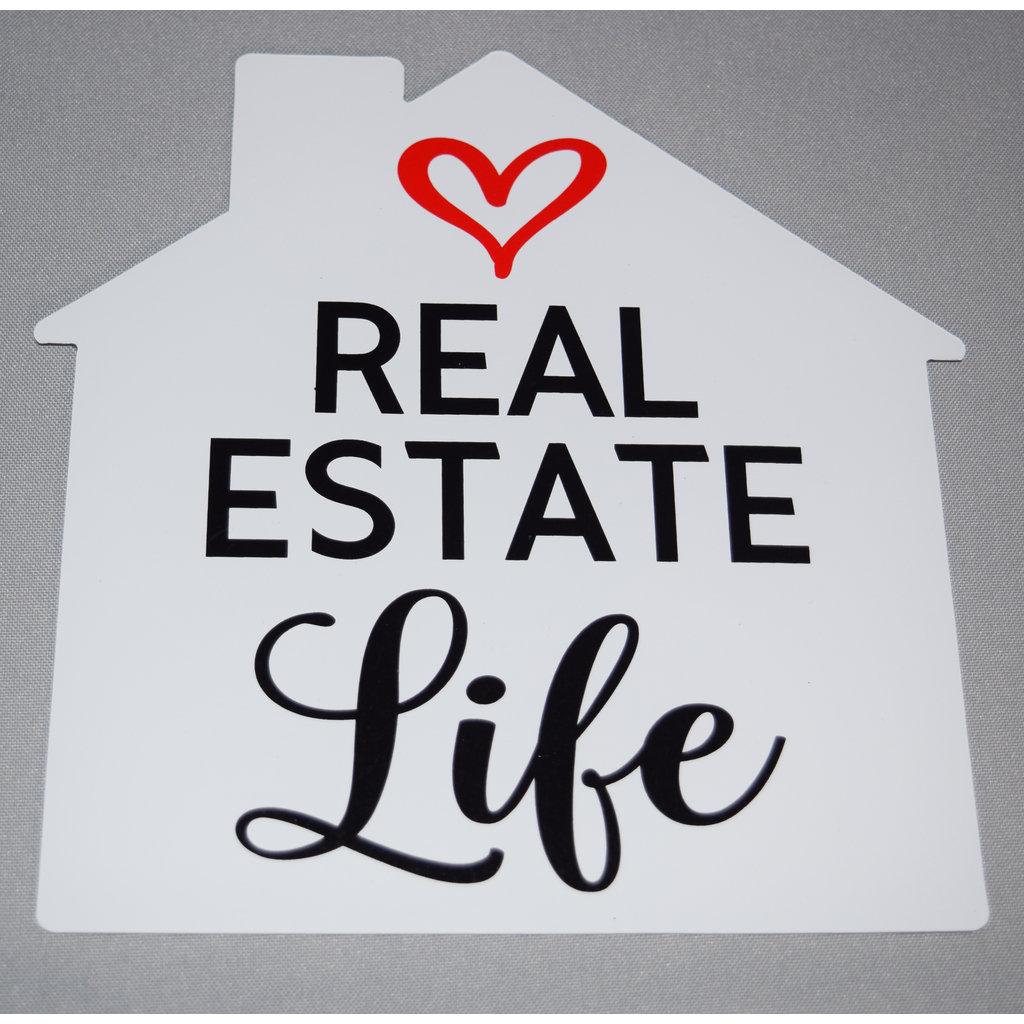 Real Estate Life- Car Magnet