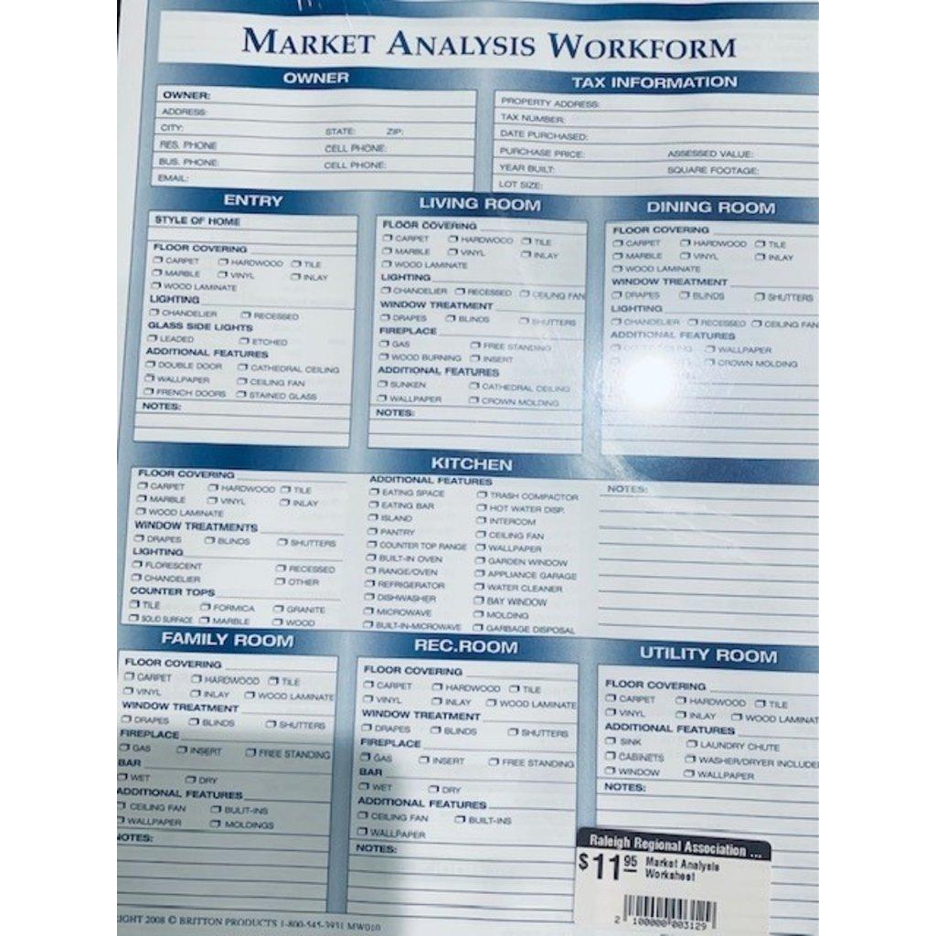 Market Analysis Worksheet