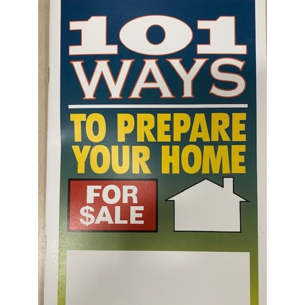 101 Ways to Prepare a House