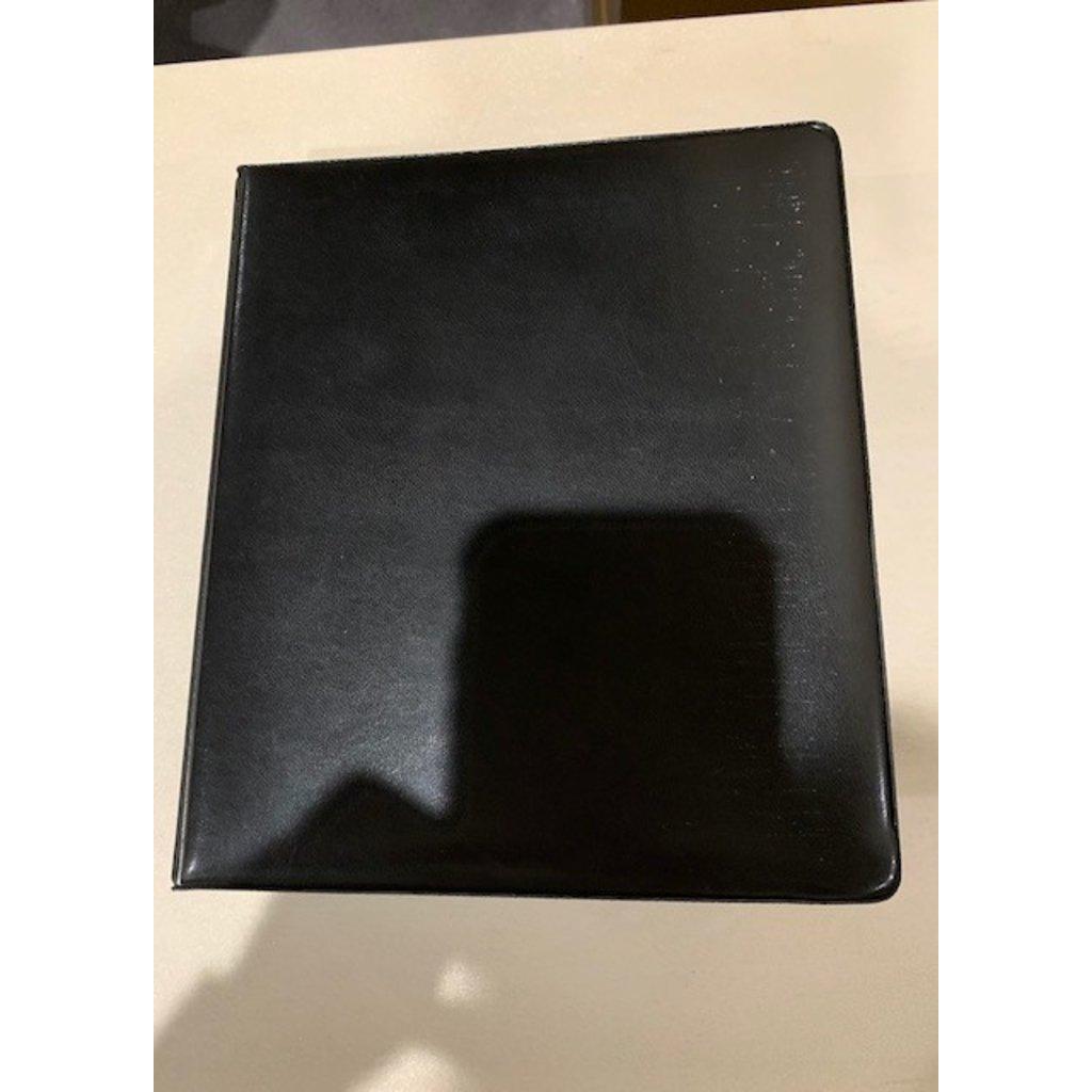 Planner Black  Leather-Sm