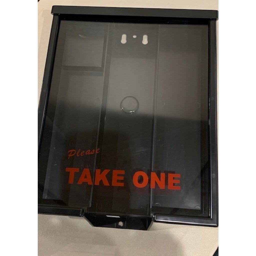 Information Box Take One  white