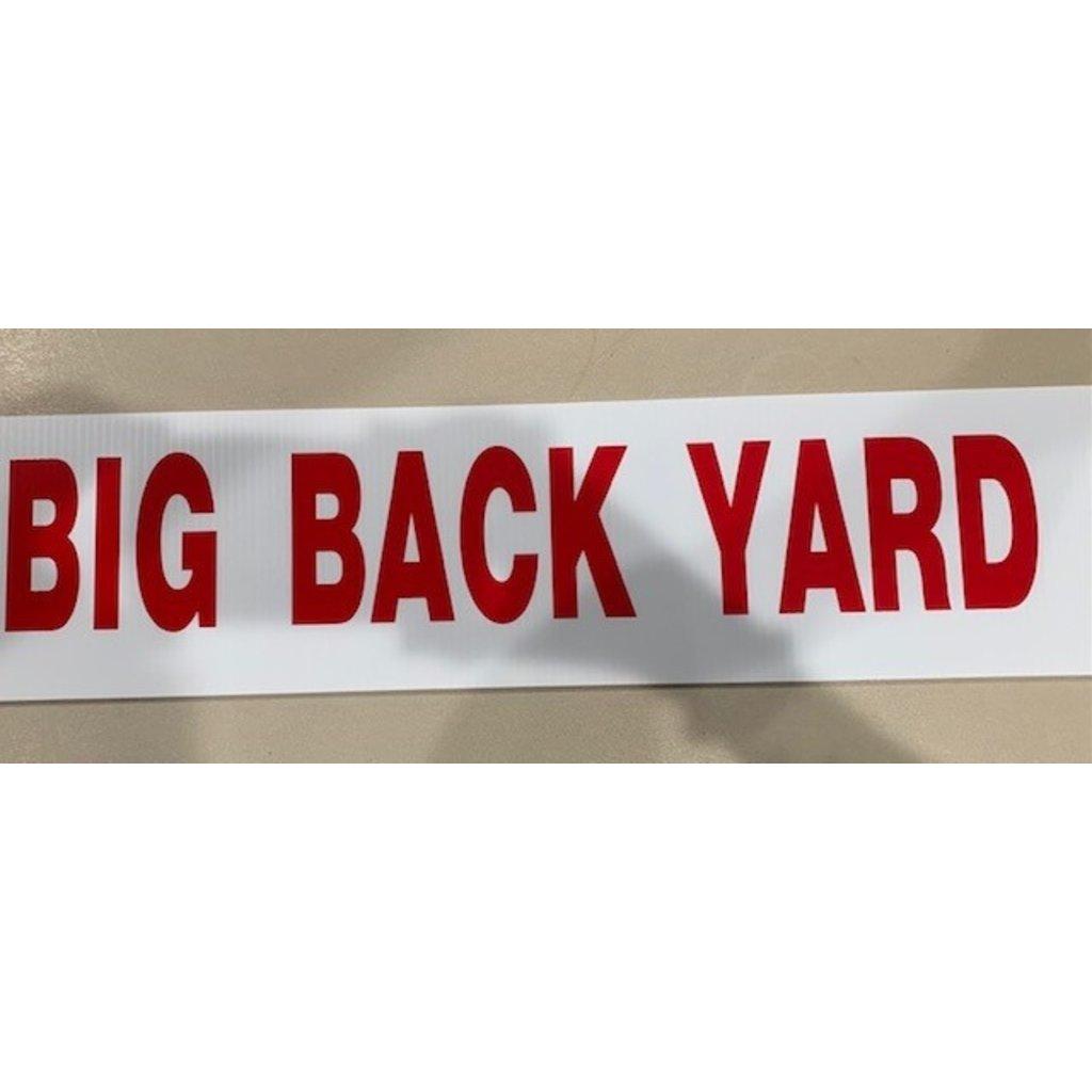 BIG BACKYARD Rider 6 x 24 Corrugated