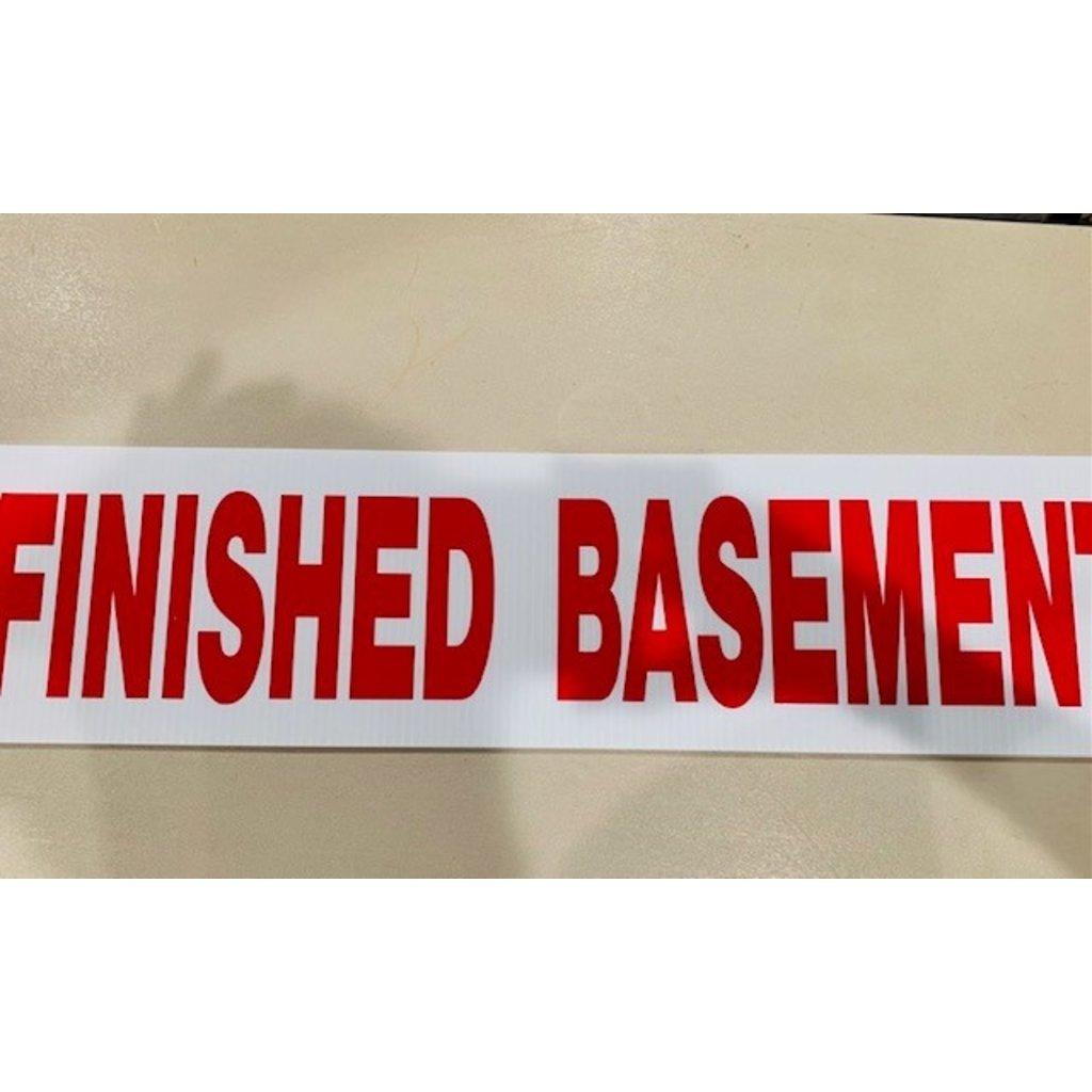 Basement/Finished Basement  6 x 24