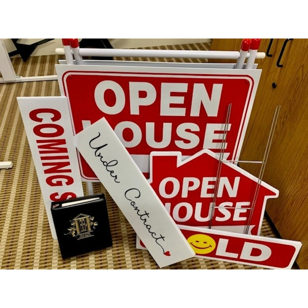FIRST LISTING/OPEN HOUSE BUNDLE