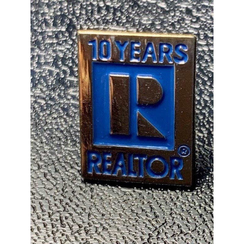 Pin - 10yr Realtor