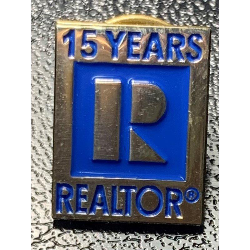 Pin - 15 yr Realtor