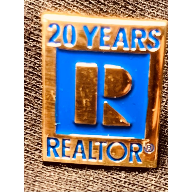 Pin - 20 yr Realtor